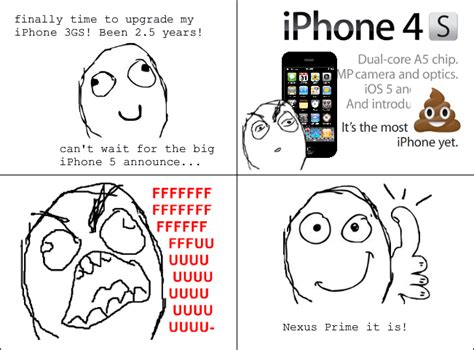 Iphone 4s Meme - iphone announces iphone 4s instead of iphone 5 web reacts