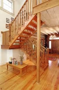 Log Cabin Sofas Log Cabin Open Staircase Reclaimed Wood