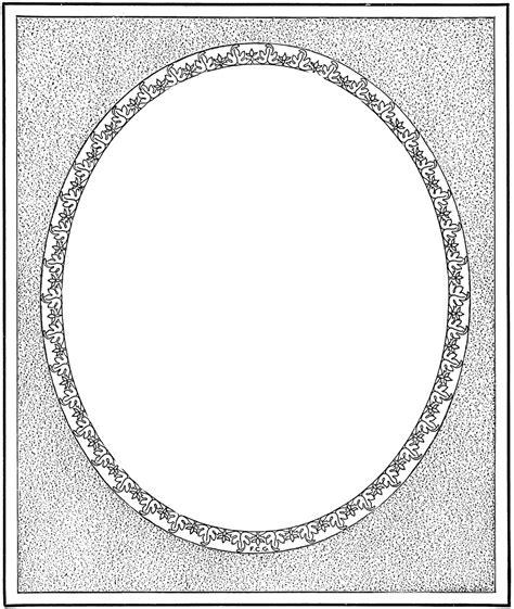 decorative oval border oval border clipart etc