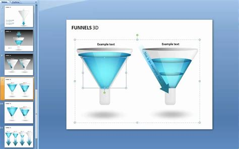 How To Edit A Funnel Chart In Powerpoint Youtube How To Make A Funnel In Powerpoint
