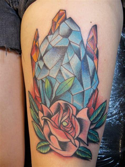 crystal tattoos designs ideas  meaning tattoos