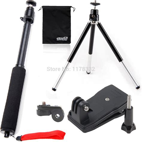 Monopod Sony 6in1 1set cameras monopod stick cl mount tripod for sony hdr as20 as15