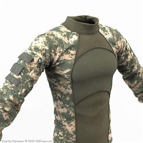 army pattern dress cg artists 3d artist s blog the official cg elves blog