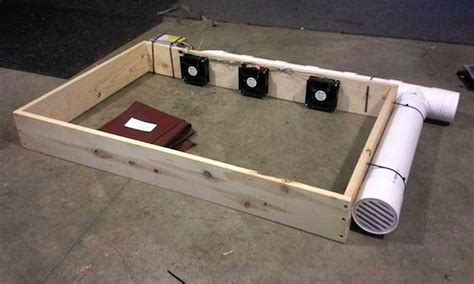 bed fan system diy air conditioned dog bed is affordable and easy to make