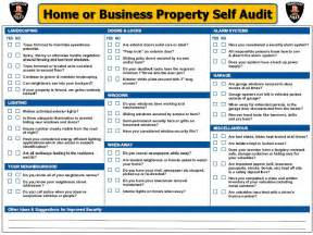 Security audit checklist template success