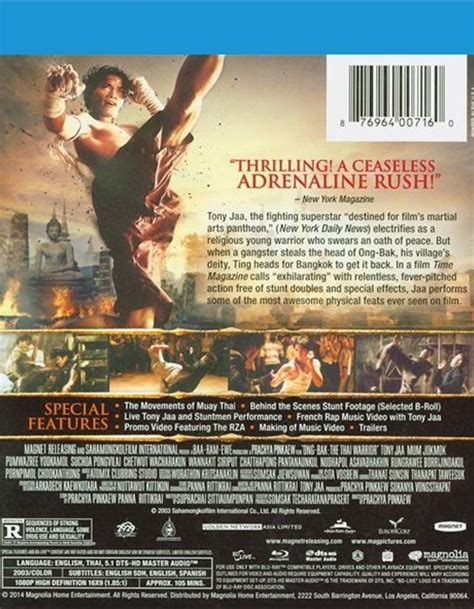 ong bak the thai warrior blu ray review collider collider ong bak the thai warrior blu ray 2003 dvd empire