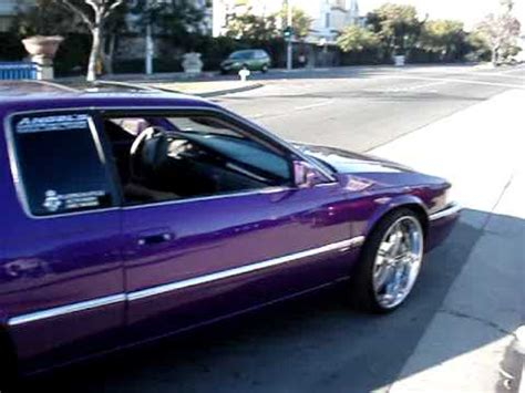 Cadillac On 22s by Platinum Style Auto Purple Cadillac On 22 S Dub