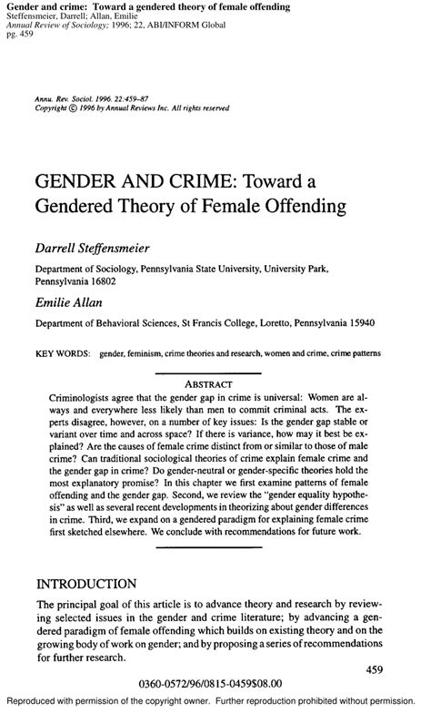 crime pattern theory pdf gender and crime toward a gendered pdf download