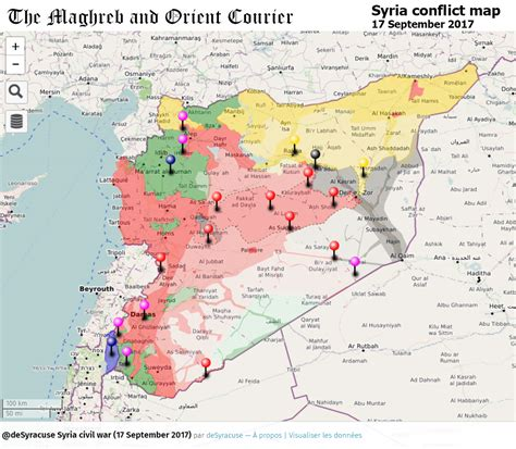 where is the map urgent syria interactive conflict map 17th of