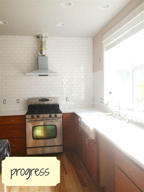 Installing Kitchen Tile Backsplash by Subway Tile Grout Oyster Gray