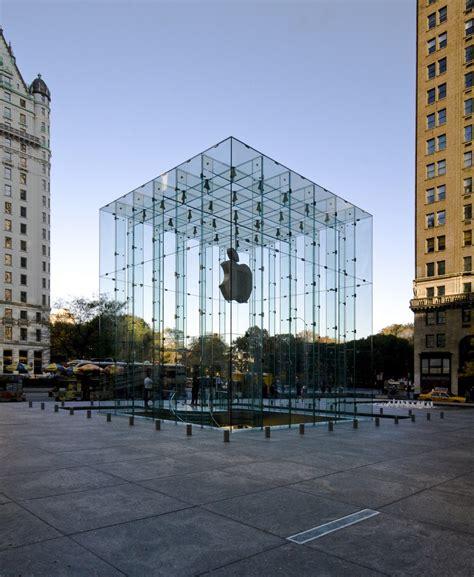 apple new york apple store fifth avenue bohlin cywinski jackson new