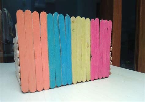 Merk Cat Tembok Untuk Melukis painted stick box diy sundariekowati