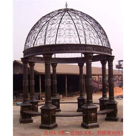 12 ft round cast iron large gazebo cg006 ebay