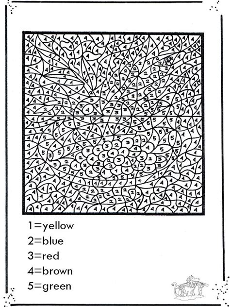 color by number advanced coloring pages 531502