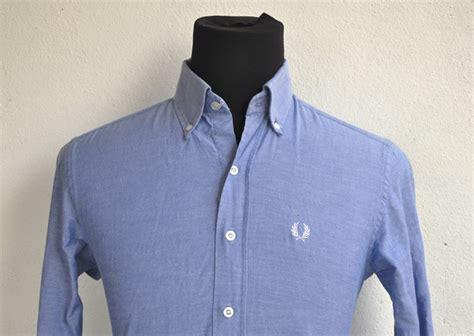 Kemeja Fred Perry longgokbundle 013 3107398 fred perry kemeja biru sleeve medium shirt sold