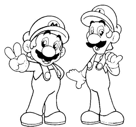 print and coloring page super mario for kids print and