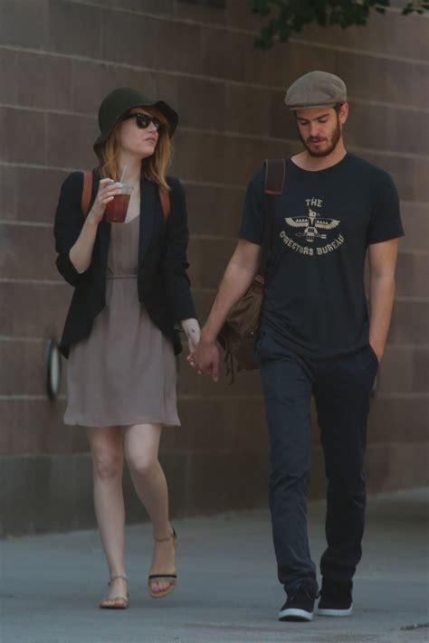 emma stone boyfriend emma stone with boyfriend out in new york city june 2014