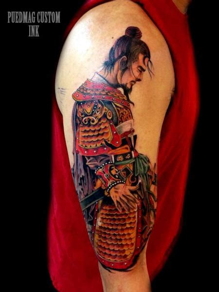 samurai tattoo sleeve 51 awesome samurai tattoos