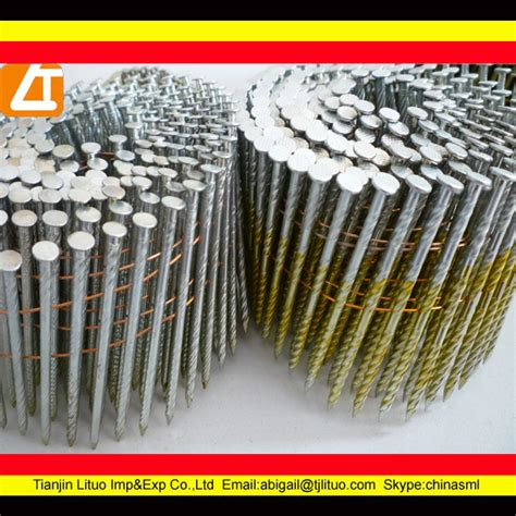 Good Quality Coil Fence Gun Nails Buy Coil Fence Gun