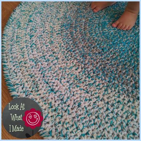 free pattern crochet rug fabulously chic crochet rugs the stitchin
