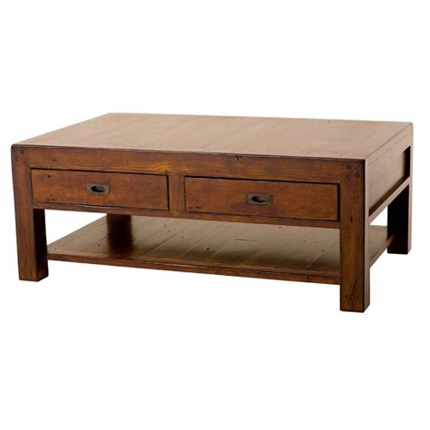 Desk Coffee Table by Post Rail Reclaimed Pine Coffee Table Buy Wooden
