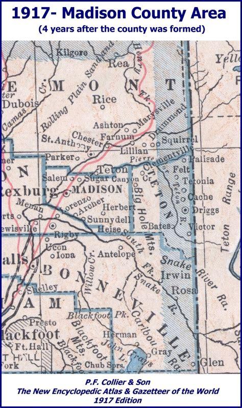 Rexburg Mba by County Idaho