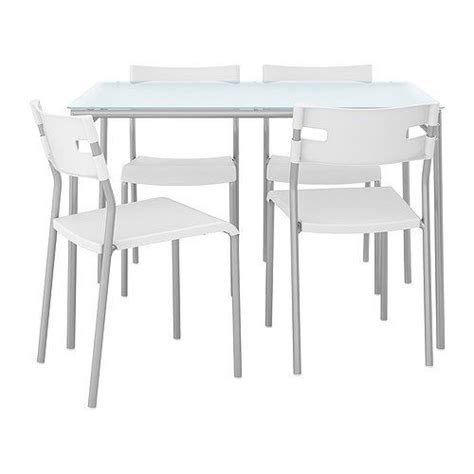 Ikea Glass Dining Tables Ikea Glass Dining Table And 4 Chairs
