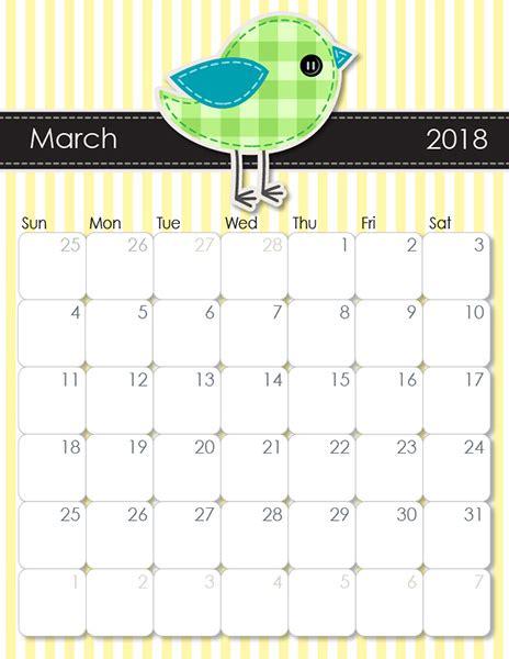 printable monthly calendar 2018 imom imom s whimsical 2018 printable calendar imom