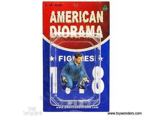 American Diorama 118 Mechanic american diorama figurine mechanic jerry figure 1 18