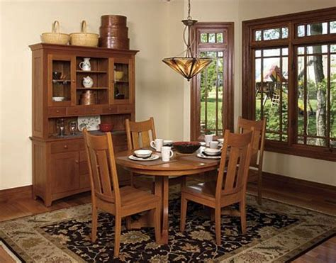 craftsman dining set mission style google search