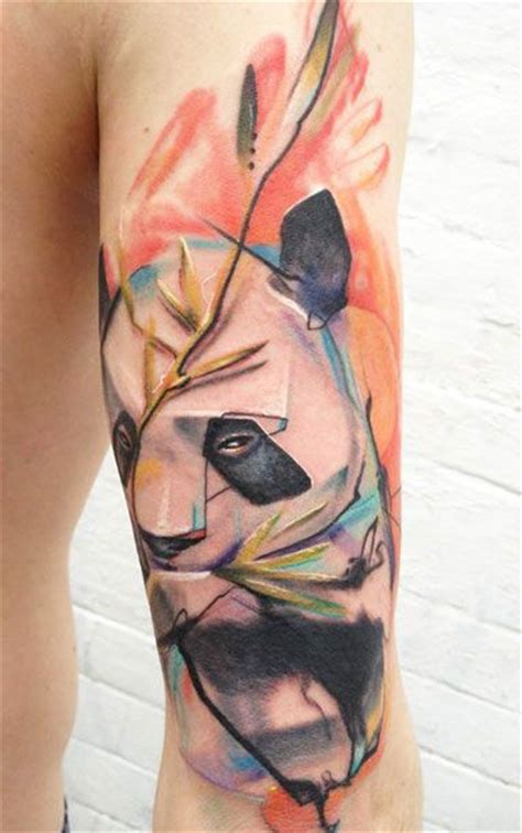 watercolor tattoos panda 363 best images about panda tattoos on