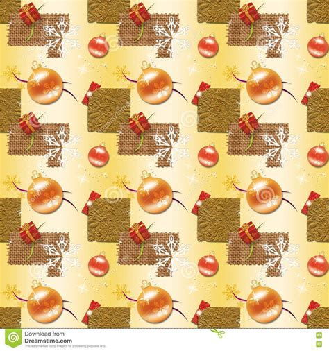 gold christmas wrapping paper stock illustration illustration  party night