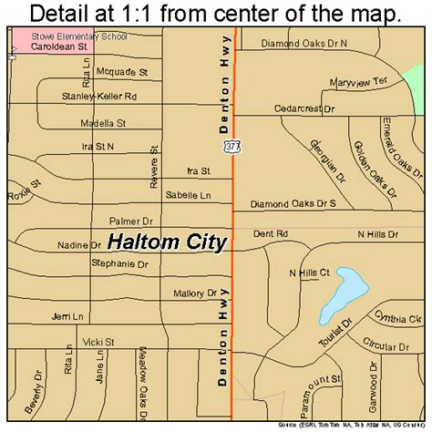 where is haltom city texas on the map haltom city texas map 4831928