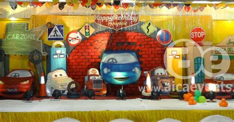 india 2015 theme aicaevents india disney cars theme birthday
