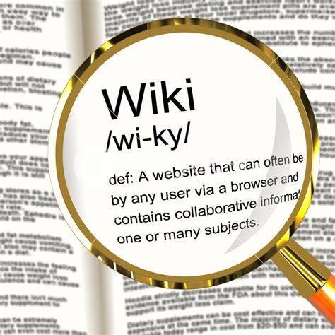 design definition wikipedia wiki definition magnifier showing online collaborative