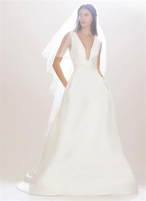 Carolina Herrera Wedding Dresses   carolina herrera fall 2016 collection wedding dress photos