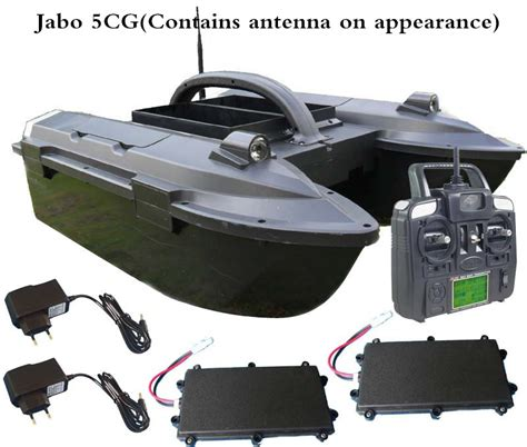 rc fishing boat jabo hot sell new arrival rc fishing bait boat jabo 5a 5cg bait