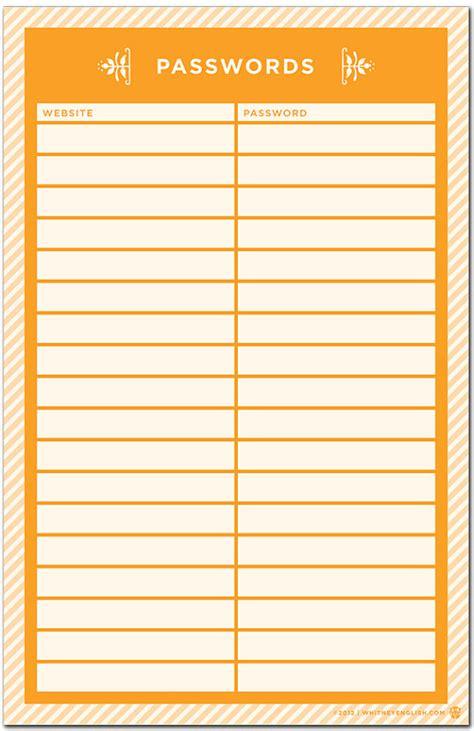 Finder Websites List Computer Website Password Organization List Simplified Bee