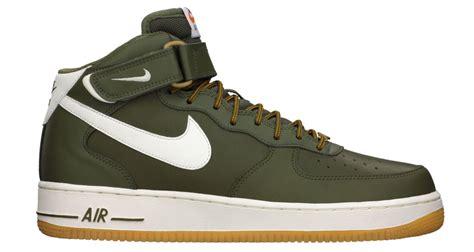 Nike Airforce One 11 Nike Air 1 Mid Olive Gum Kicks