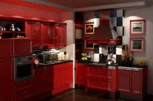 Red Kitchen Cabinet by Gallery For Gt Distressed Red Kitchen Cabinets
