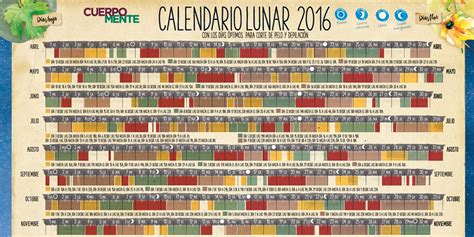calendario lunar para cortar cabello 2016 calendario lunar de corte de pelo y depilaci 243 n