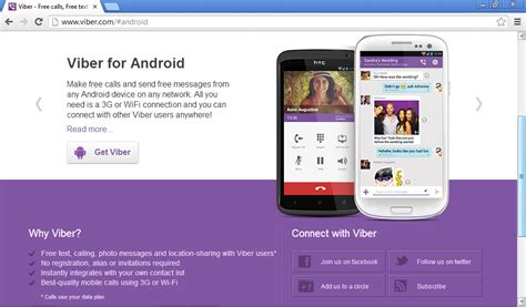 mobile viber mobile app viber connect freely times of refreshing