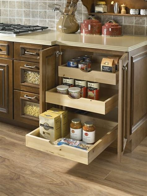 Kitchen Drawers Keep Sliding Open Roll Out Cabinet Drawers Five Drawer Media Storage Roll