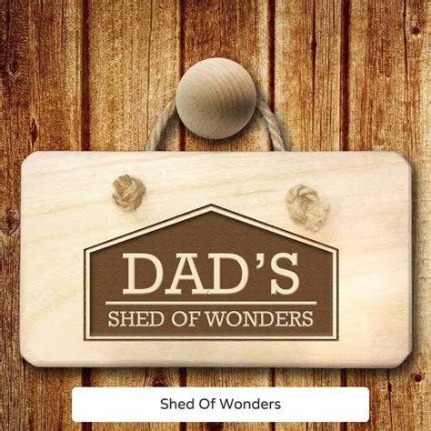 Shed Gifts by Personalised Shed Sign Buy From Prezzybox