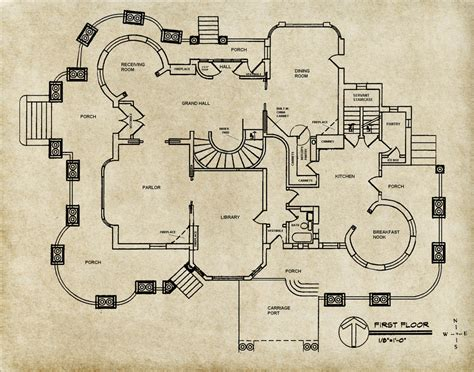 Dishonored 2 Floor Plan - grounds map for haunted mansion by cannedbeets on deviantart