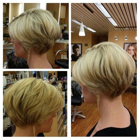 short stacked haircuts front iews 201 best images about hair styles on pinterest winona