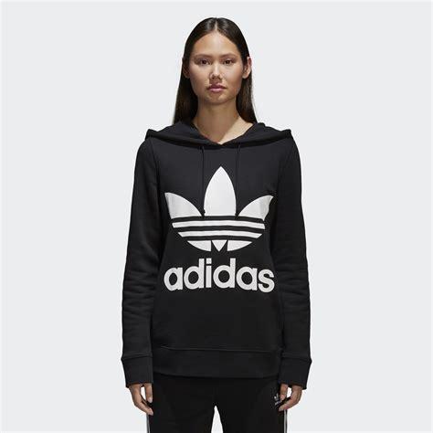 design adidas hoodie adidas trefoil hoodie black adidas uk