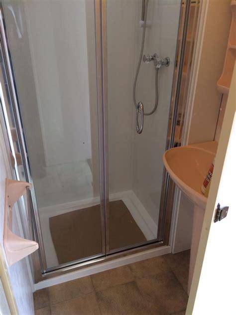 Caravan Shower Door Caravan Shower Conversion Barmouth Wales Mike Joyce Caravan Repairs