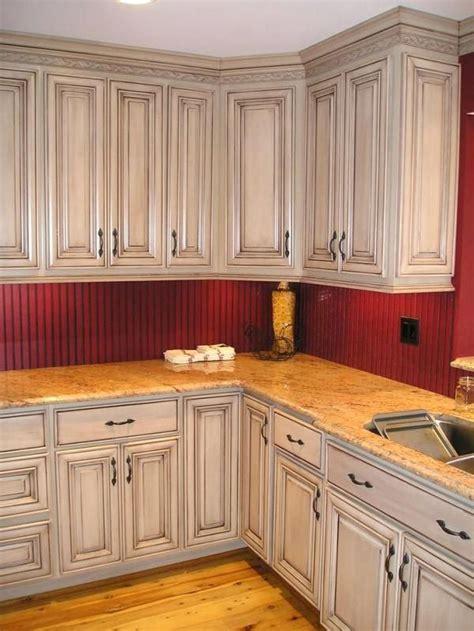 image result    darken pickled oak cabinets