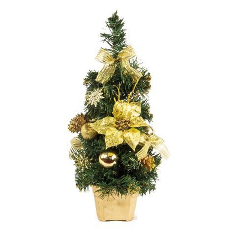 gold table tree 40cm christmas trees tabletop trees